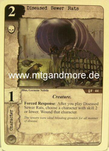 1x Diseased Sewer Rats  #044 Call of Cthulhu Secrets of Arkham