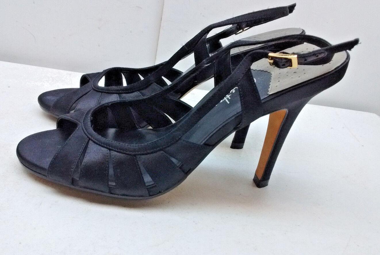 vente chaude en ligne 6f7d2 38cfe Tissu 8B Taille Chaussure Sandale Aiguille Talon Arrière ...