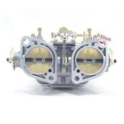 Weber 48idf 48 Idf Carburetor With Chrome Air Horns For Vw//volkswagen//bug//beetle