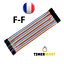 Cable-Dupont-20cm-Jumper-Wire-Linie-pour-Breadboard-Arduino-MM-MF-FF-TimerMart miniature 17
