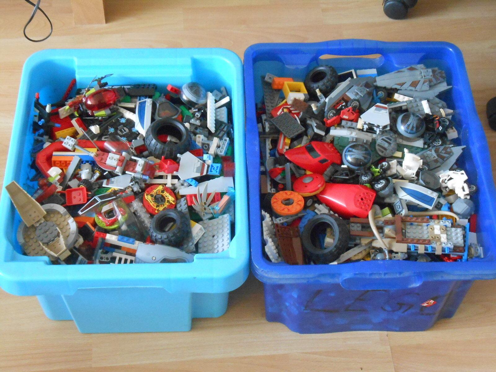 LEGO la raccolta-prevalentemente Star Wars tecnica, parti, city ecc. ca 15 KG     pulito