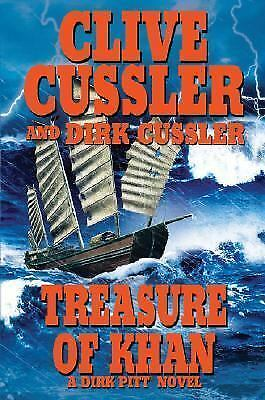 1 of 1 - Dirk Pitt: Treasure of Khan by Dirk Cussler and Clive Cussler (2006, Hardcover)