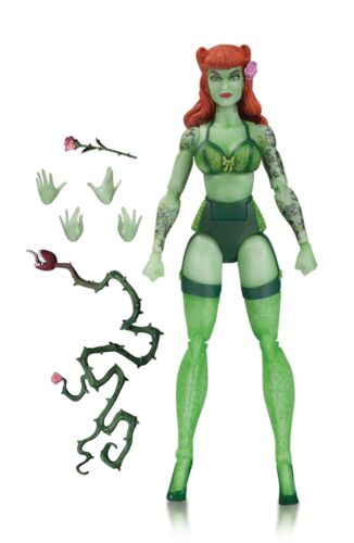 DC Comics Bombshells Poison Ivy Designer Series Action Figure By Ant Lucia