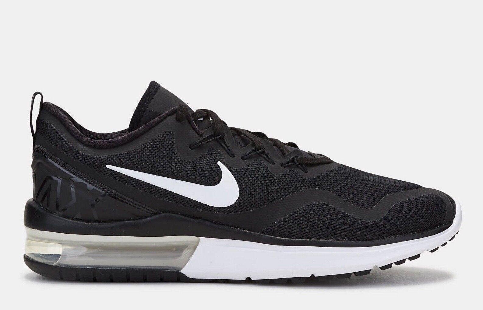 Nike Air Max Fury Black White Running shoes Size 11 Mens Run AA5739 403 New