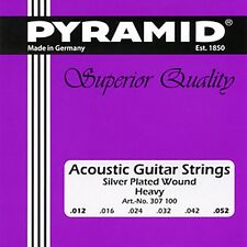 Pyramid Akustik Gitarre Acoustic Guitar Heavy .012-.052 Saiten SATZ Strings SET