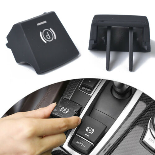 Car Parking Brake P Button Switch Cover Cap For BMW 5 6 F10 F11 F18 F06 F12 F13