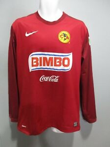 sale retailer 08f61 cd975 Details about club america aguilas nike jersey LARGE goal keeper