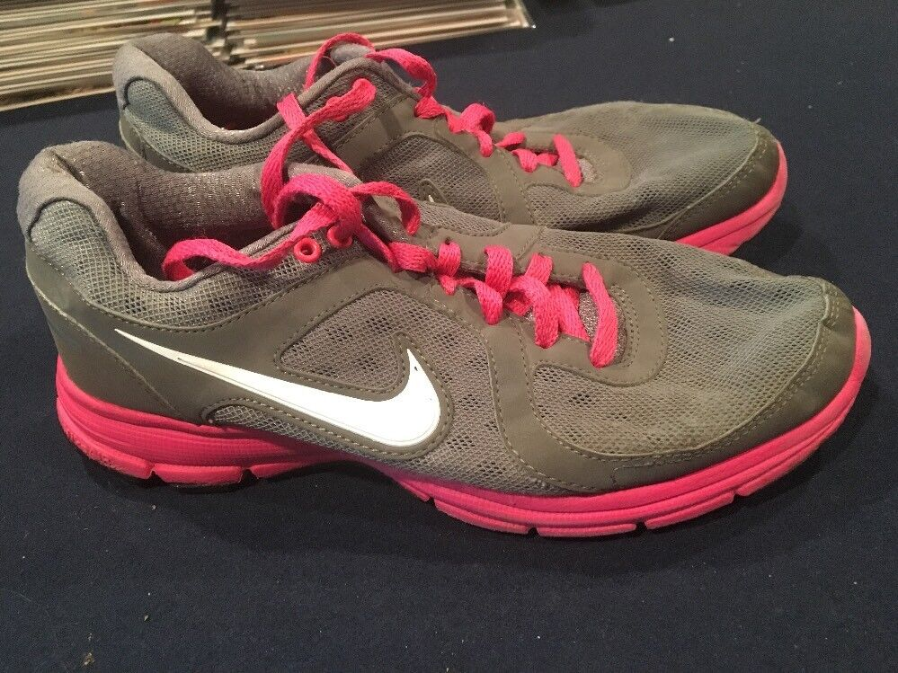 Nike Air Relentless 443861-008 Size 7 Nice Condition Pink Gray AA40