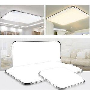 LED-Deckenleuchte-Badleuchte-Kueche-Deckenlampe-Dimmbar-Wohnzimmer-IP44-12W-96W