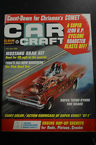 1966 car craft july back issue magazine ebay