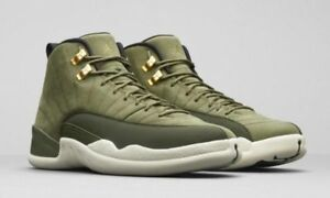 9105f277cb NIKE Air Jordan 12 Retro Chris Paul Class Of 2003 Olive Canvas ...