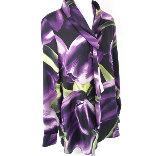 513033001 Floral 42 44 Ladies Basel Top Np 129 Novità Gr Black 40 Camicetta Yyv6b7fg