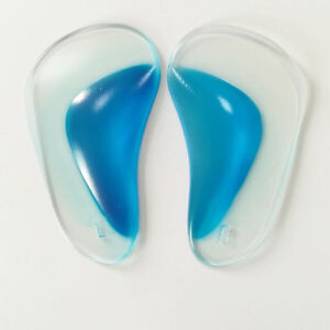 326539dde88 Details about Foot Arch Blue Core Support Insole Fasciitis Relief Pain High  Heels Gel Pads