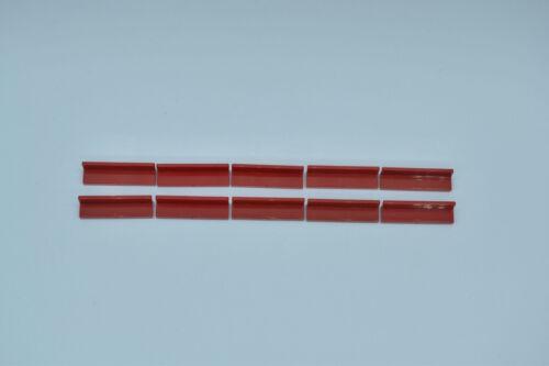 LEGO 10 x Paneele Bank 1x4x1 rot red panel 30413 4171662