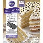 Wilton Round Easy Layers Cake Tin Set Grey 4-piece B01da2idnk