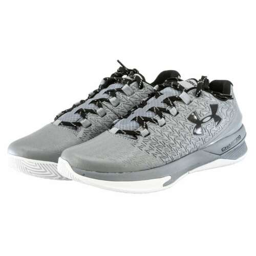 Under Armour Men/'s  UA ClutchFit Drive 3 Low Basketball Shoes NEW Gray Sneakers