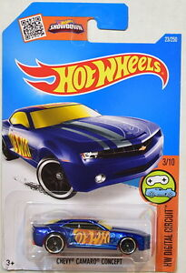 HOT-WHEELS-2016-HW-DIGITAL-CIRCUIT-CHEVY-CAMARO-CONCEPT-3-10-BLUE