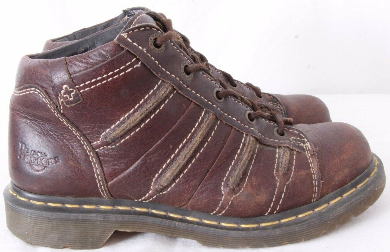Dr. Doc Martens 12035 Air Wair Non Slip Stitched Ankle Boots Women's UK 6 (US 8)