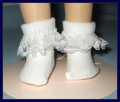 "Lace Trim Ankle SOCKS fits 18/"" MAGIC ATTIC Ann Estelle American Girl Anklets"