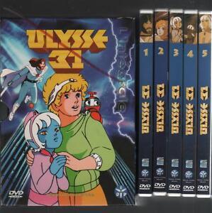 Details Sur Coffret 5 Dvd Ulysse 31 Nono Robot Odysseus Dessins Animes Livre