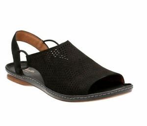 d95f3d1f1818 Women s Shoes Clarks Sarla Cadence Nubuck Perforated Sandals 24088 ...