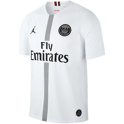 Nike Jordan PSG Paris Saint German 2018-2019 UCL Third Soccer Jersey Black