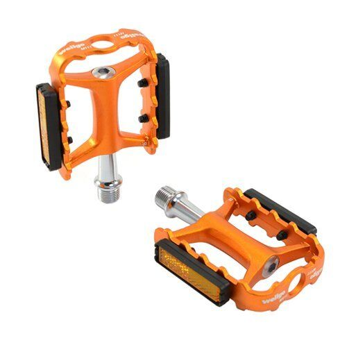 Wellgo M111 M-111 MTB Aluminum Forged Pedals Gold