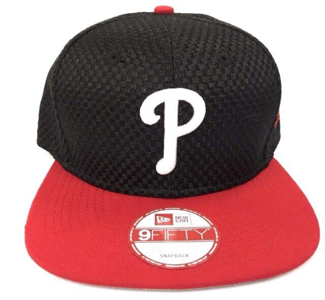 size 40 93202 cd4d8 Philadelphia Phillies New Era 9Fifty MLB Crown Checkered Men Snapback Cap  Hat