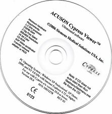 Acuson Cypress Ultrasound Viewer Software