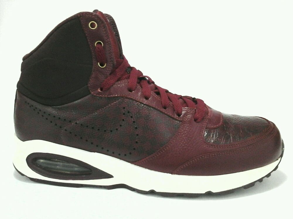 Nike AIR MAX INTERNATIONAL Burgundy rouge chaussures homme US 9 UK 8 EUR 42.5 RARE