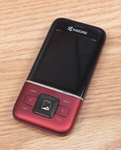 Details about **FOR PARTS** Kyocera Laylo M1400 (MetroPCS) CDMA Red & Black  Slide Phone *READ*