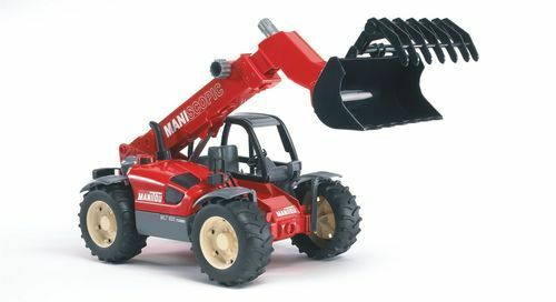 Bruder 2125 Manitou Telescopic Farm Loader Toy MLT633 1 16 Scale