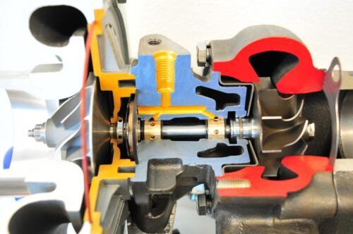HYBRID T3//T4 T3T4 T04E .63 A//R TURBINE 5 BOLT FLANGE TURBOCHARGER TURBO CHARGER