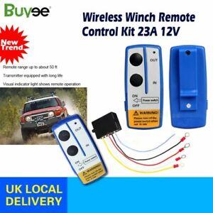 UK Wireless Winch Remote Control Kit For Jeep ATV SUV UTV 12V Switch Handset
