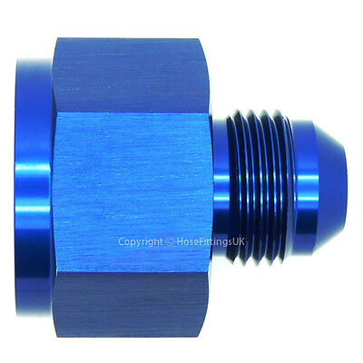 FEMALE AN10 TO AN6 AN-6  MALE FLARE REDUCER  FUEL LINE HOSE END FITTING  ADAPTER