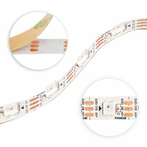 SK6812 WS2812B IC LED Streifen licht 5050 RGB RGBW LED Pixel Adressierbar 5V dc