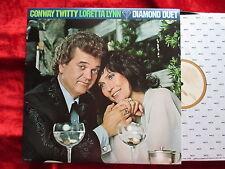 Conway Twitty & Loretta Lynn - Diamond Duet (1979) USA LP MCA-3190