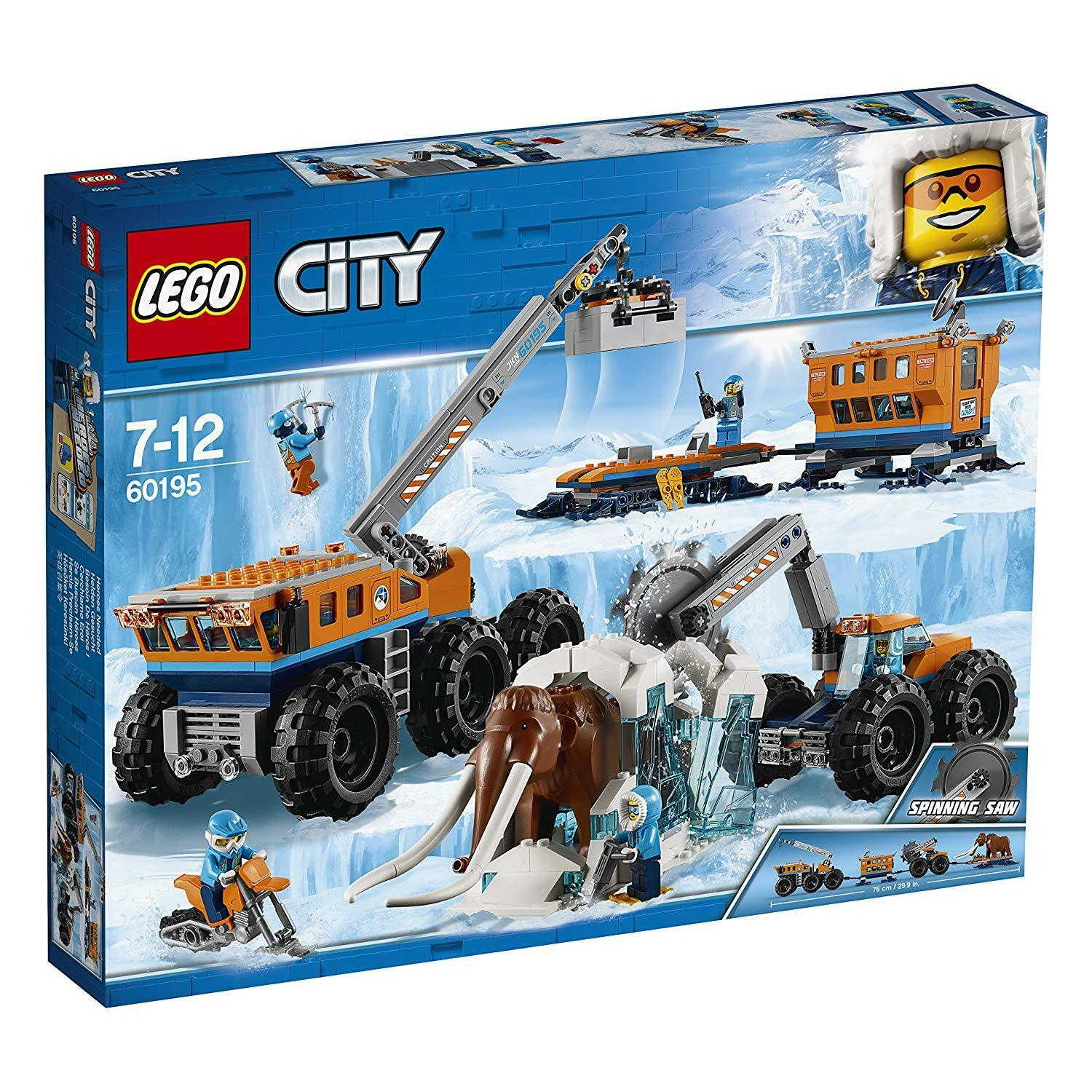 LEGO City 60195: Arctic Mobile Exploration Base - Brand New