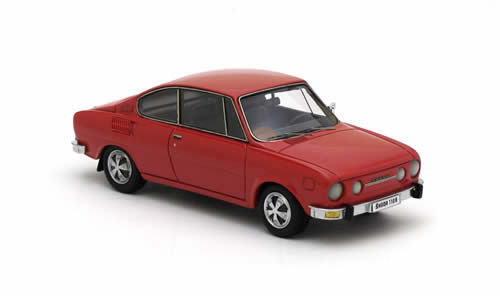 NEO MODELS Skoda 110R Coupe 1972 1972 1972 (red) 1 43 44486 96d328