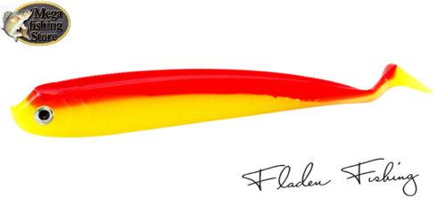 Fladen Spyder Shad Gummifisch Red-Yellow 13cm//13g Hecht Zander Barsch Dorsch