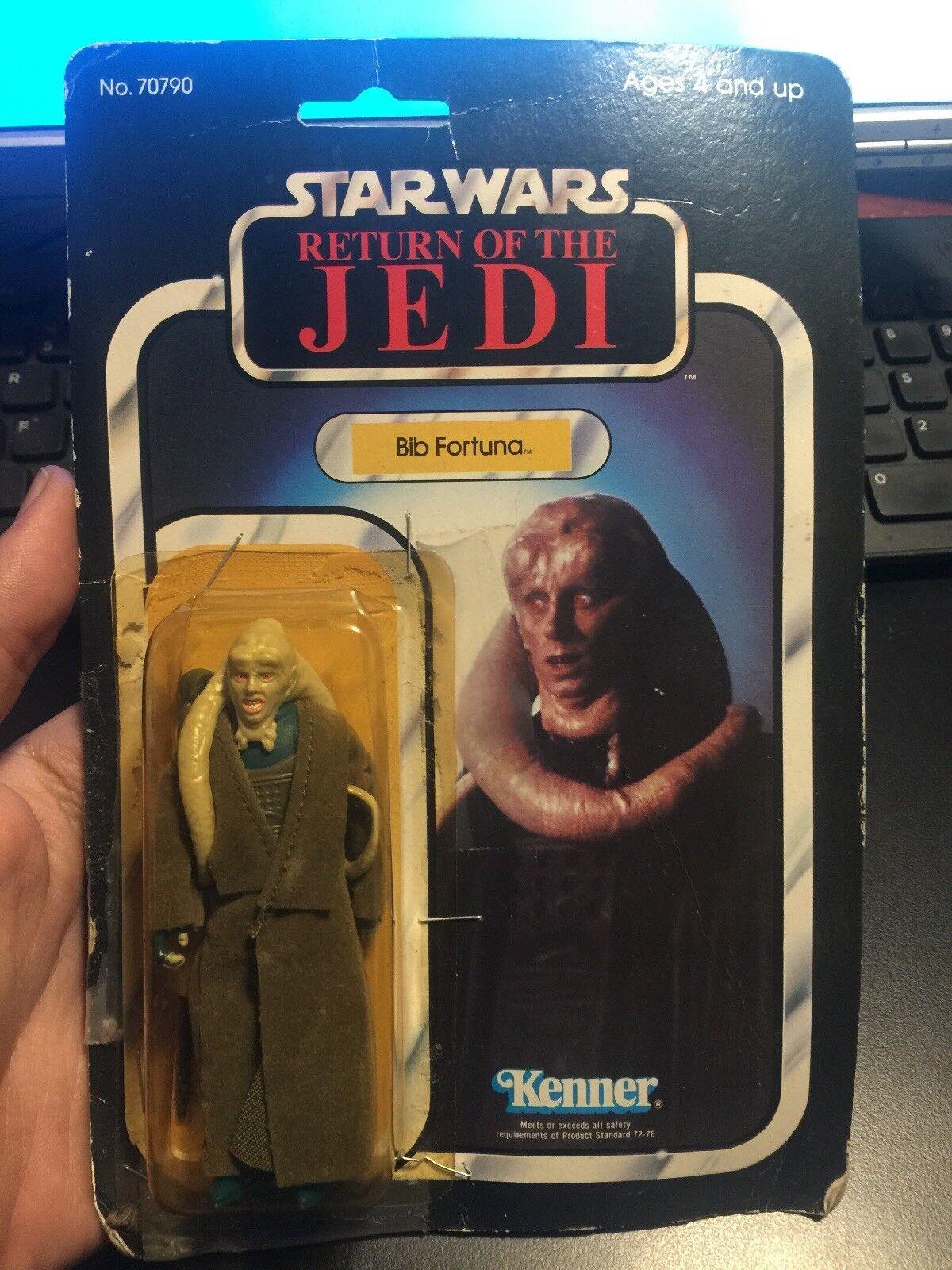 Star Wars Return Of The Jedi 1983 Kenner              BIB FORTUNA