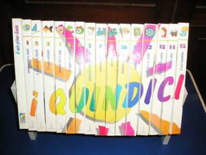 Enciclopedia-dei-I-QUINDICI-15-volumi-1-ed-2000-COMPLETA-per-ragazzi-vintage