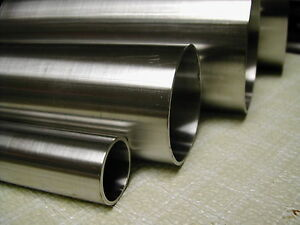 """1/2"""" OD, 0.065 W x 24"""" Length (SMLS) 316/316L  Stainless Steel Round Tubing"""