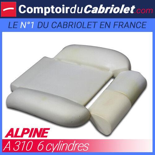 Mousse d/'assise avant pour Alpine A310  6 cylindres