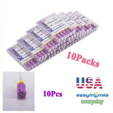 10packs Dental Endo K Files Endodontic Hand Use Files Stainless 10 Easyinsmile