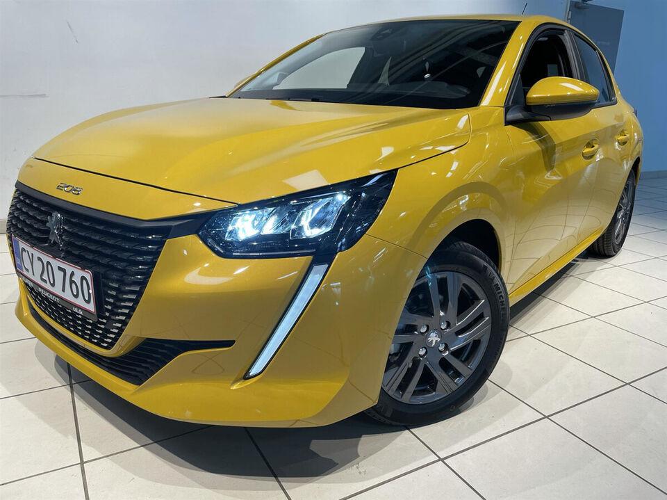 Peugeot 208 1,2 PT 75 Prime Benzin modelår 2021 km 2