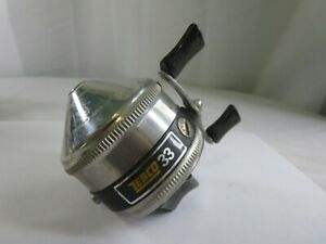 Vintage-Zebco-33-Gold-One-Rivet-Spincast-Fishing-Reel-Condition-is-Used-GSB