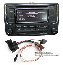Car Stereo VW RCN210 +Canbus Cable Bluetooth CD USB AUX GOLF TOURAN JETTA POLO