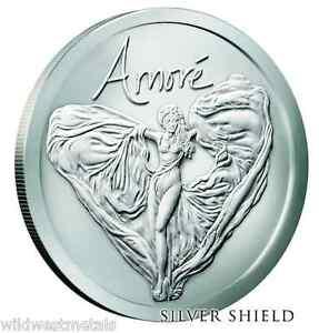 2016 Amore Bu Silver Shield 1oz 999 In Hand Sbss Art