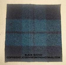 WW2 British Army,Black Watch tartan patches insignia for Tam O Shanter cap hat